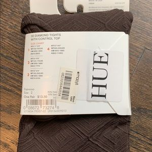 HUE Accessories - Hue 3D Diamond tights with Control Top